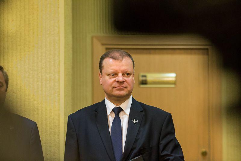 Saulius Skvernelis, kandidatas į premjerus. Vladimiro Ivanovo (VŽ) nuotr.
