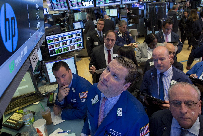 HP rezultatai teigiami, bet akcijos smuko dėl prastų perspektyvų