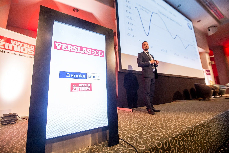 """Danske Bank"": krizės Kinijoje rizika – 50%"