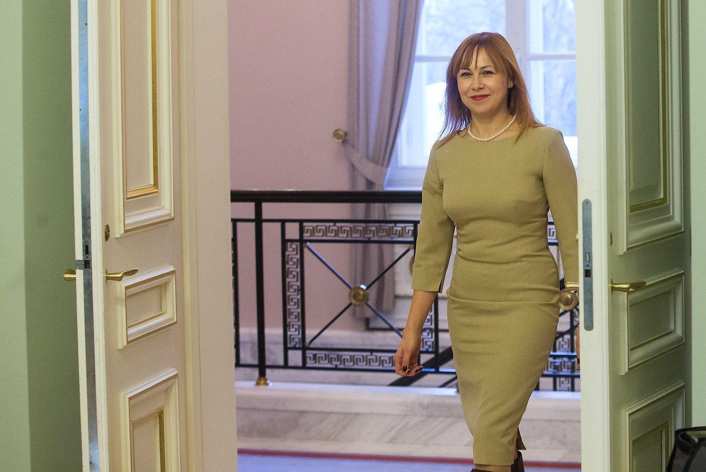 Kandidatė į švietimo ministrus aptakiai kalba apie universitetų jungimą