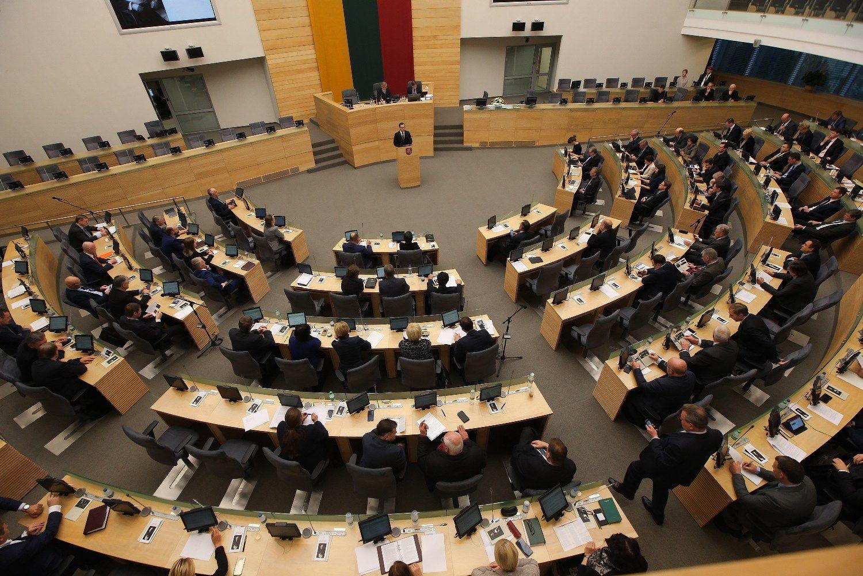 Seimas panarstė biudžetą ir grąžino jį Vyriausybei tobulinti