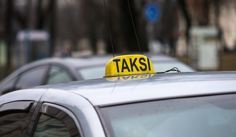 Taksometrų be atminties VMI neregistruos