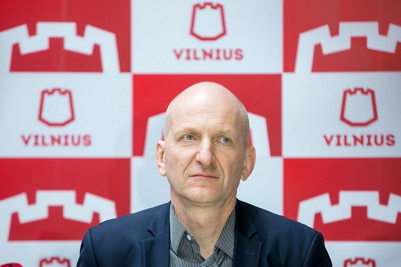 "Mindaugas Pakalnis, Vilniaus vyriausiasis architektas. Juliaus Kalinsko (""15min.lt"" / ""Scanpix"") nuotr."