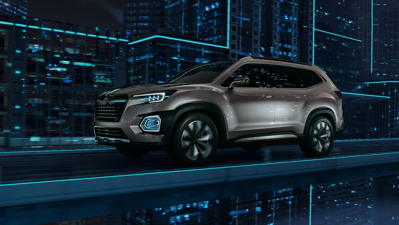 """Subaru"" kuria septynvietį visureigį"