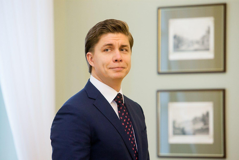 Mindaugas Sinkevičius, kandidatas į ūkio ministrus. Juditos Grigelytės (VŽ) nuotr.