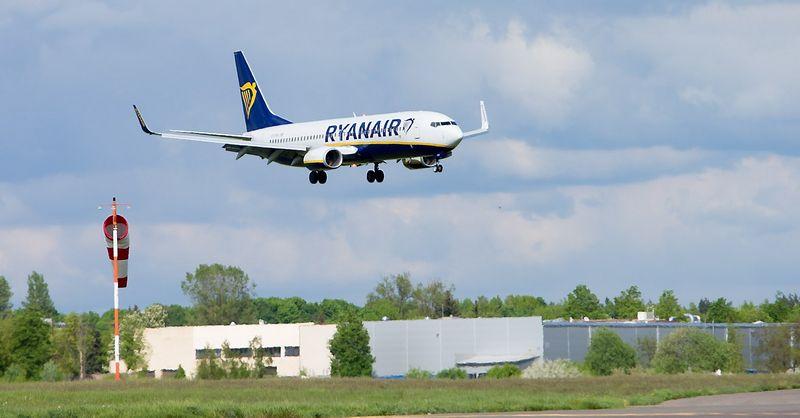"""Preliminariais duomenimis, iki šių metų pabaigos  """"Ryanair"""" tikisi aptarnauti apie 119 mln. keleivių. Juditos Grigelytės (VŽ) nuotr."""