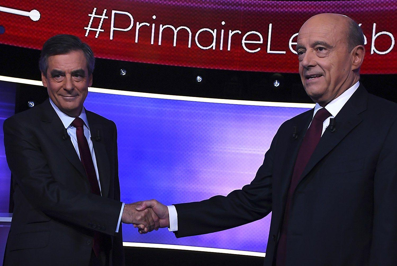 Prancūzijos dešinieji renka prezidento rinkimų favoritą