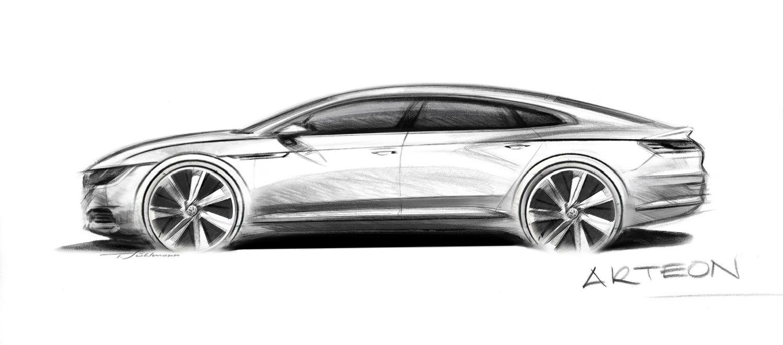 """""""Volkswagen"""" rengiasi naujo sedano """"Arteon"""" gamybai"""