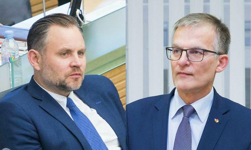 Darius Petrošius ir Julius Sabatauskas. Juditos Grigslytės (VŽ) nuotr.