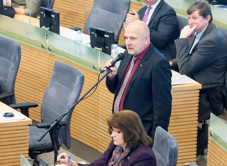 Buvęs Seimo narys Ačas tapo Raseinių administratoriumi