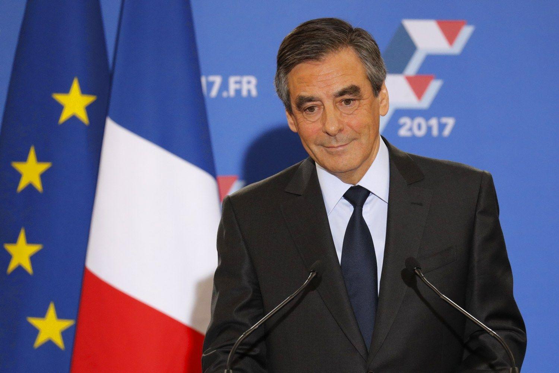 Prancūzijos dešinieji išsirinko savo kandidatą į prezidentus