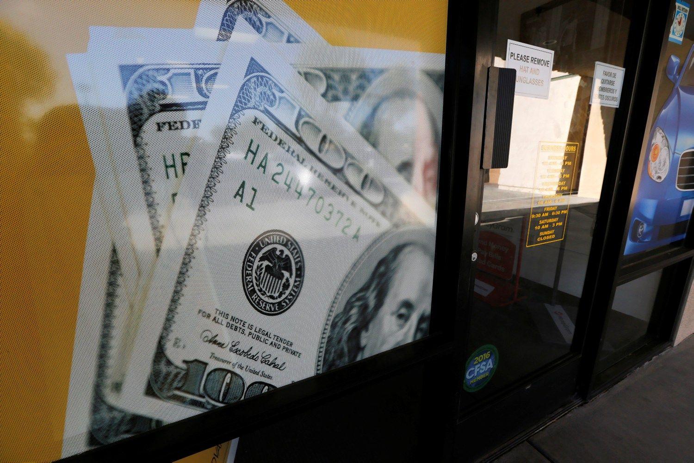 Vidaus vartojimas JAV ūkio augimą pakėlė iki 3,2%