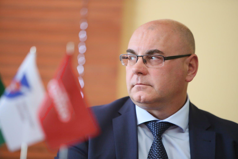 Sulaikytas Kauno raj. savivaldybės administracijos direktorius