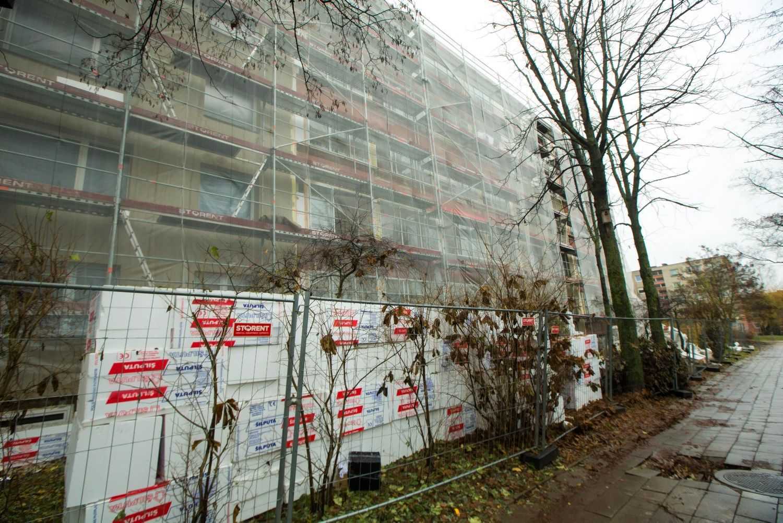 Daugiabučių renovacijai skirta 7 mln. Eur