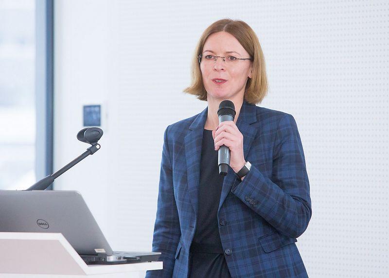 Eglė Čiužaitė, LEG vadovė. Juditos Grigelytės (VŽ) nuotr.