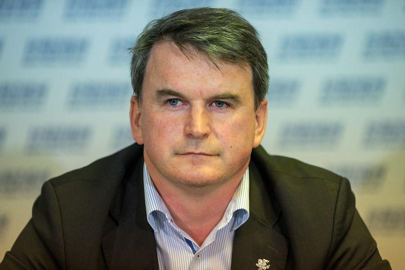 """UAB """"Nota bene"""" direktorius Andrius Jazgevičius. Vladimiro Ivanovo (VŽ) nuotr."""