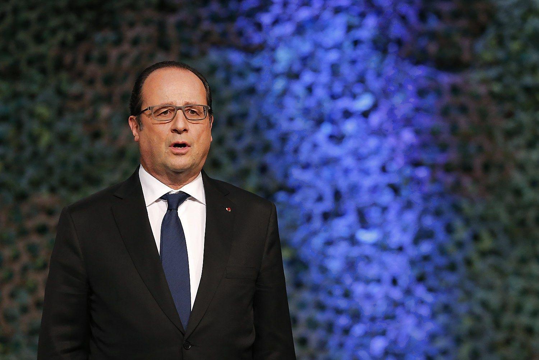 Hollande'as nedalyvaus Prancūzijos prezidento rinkimuose