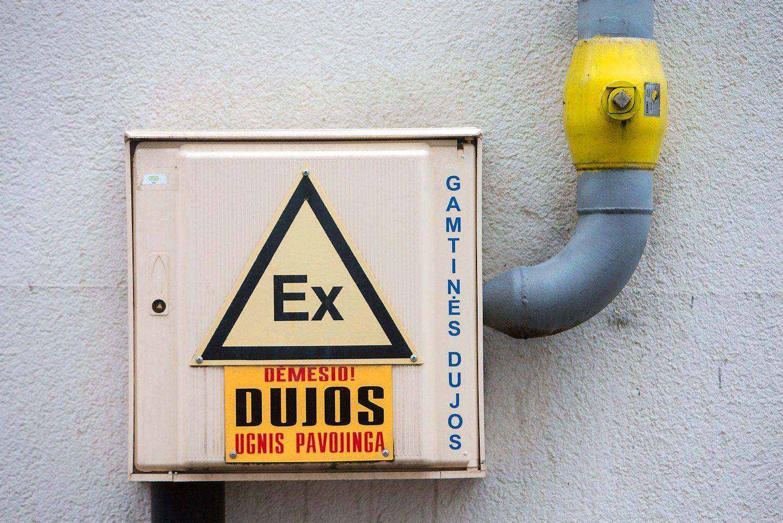 Nutiestas dujotiekis į Tauragę