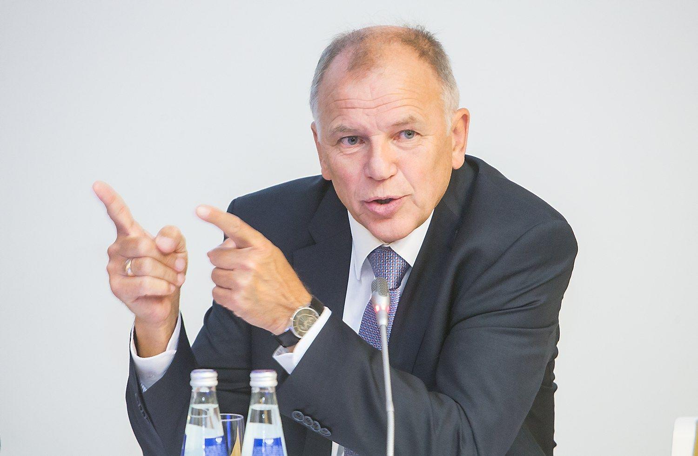 Andriukaitis ragina Seimą nebijoti priimti mažiau patrauklius sprendimus
