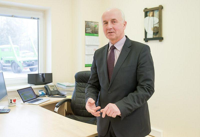 """Arūnas Makauskas bendrovei """"Ecoservice"""" vadovavo nuo 2014 m. birželio. Juditos Grigelytės (VŽ) nuotr."""