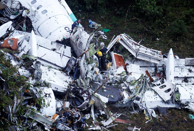 Lėktuvas Kolumbijoje sudužo pasibaigus degalams