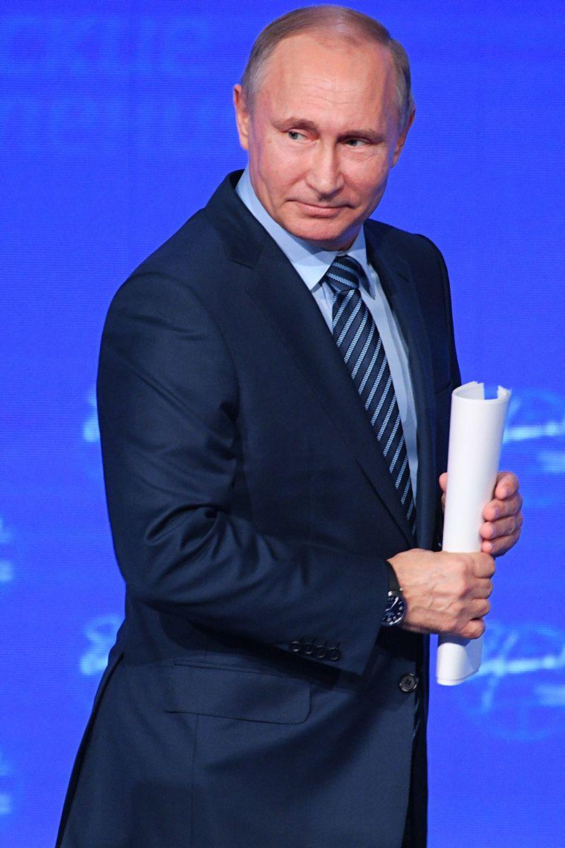 """Rusijos prezidentas Vladimiras Putinas. Ramilo Sitdikovo (""""Sputnik"""" / """"Scanpix"""") nuotr."""