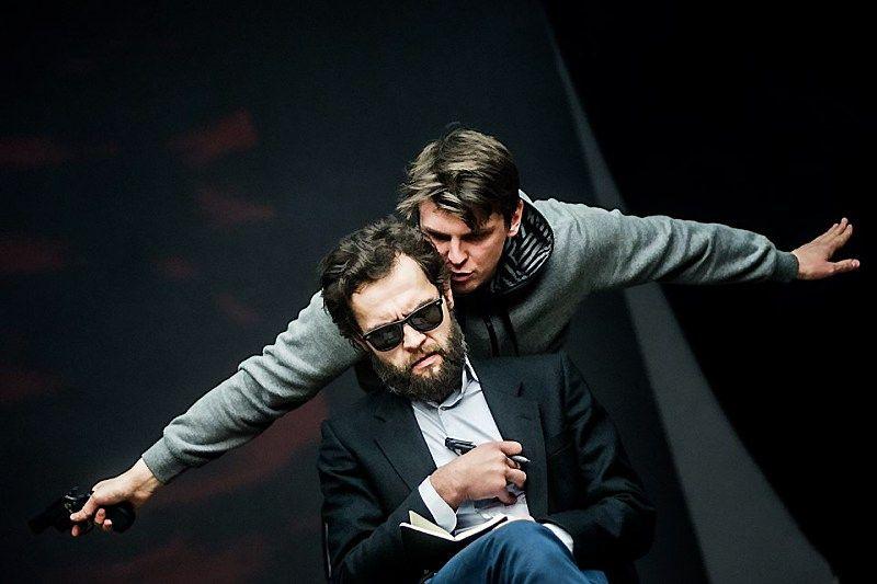 """Iš OKT teatro spektaklio """"Žuvėdra"""". OKT teatro nuotr."""
