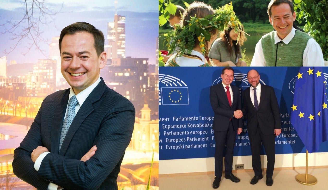 Arnoldas Pranckevičius – panevėžietis, kurįpažįsta visa Europa