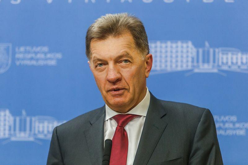 Algirdas Butkevičius, laikinasis premjeras, socialdemokratų partijos lyderis. Vladimiro Ivanovo (VŽ) nuotr.