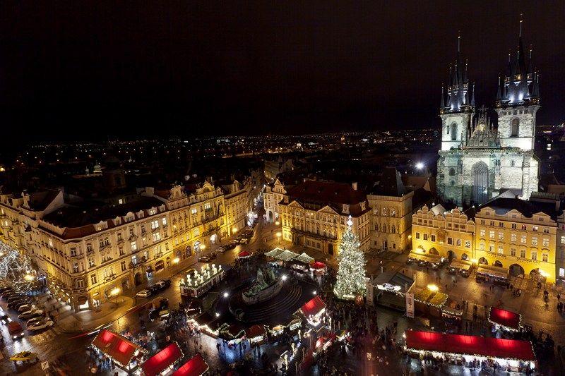 Kalėdų mugės Čekijoje