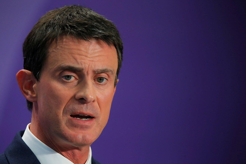 Prancūzijos premjeras atsistatydina ir sieks prezidento posto
