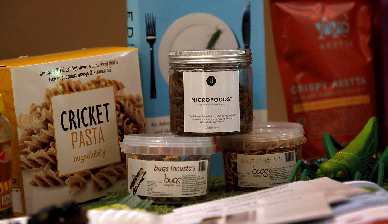 Maisto pramonės ateitis - vabzdžiai