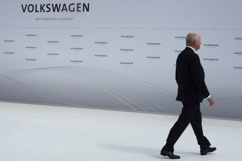 """""""Volkswagen"""" vadų paprašyta susimokėti už privilegijas"""