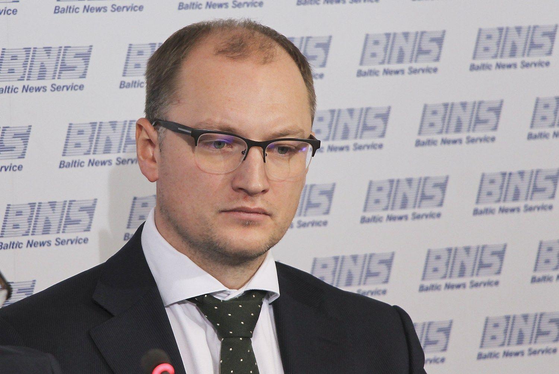 """Andrius Montrimas, laikinas bendrovės """"Lietuvos geležinkeliai"""" vadovas. 15min.lt nuotr."""