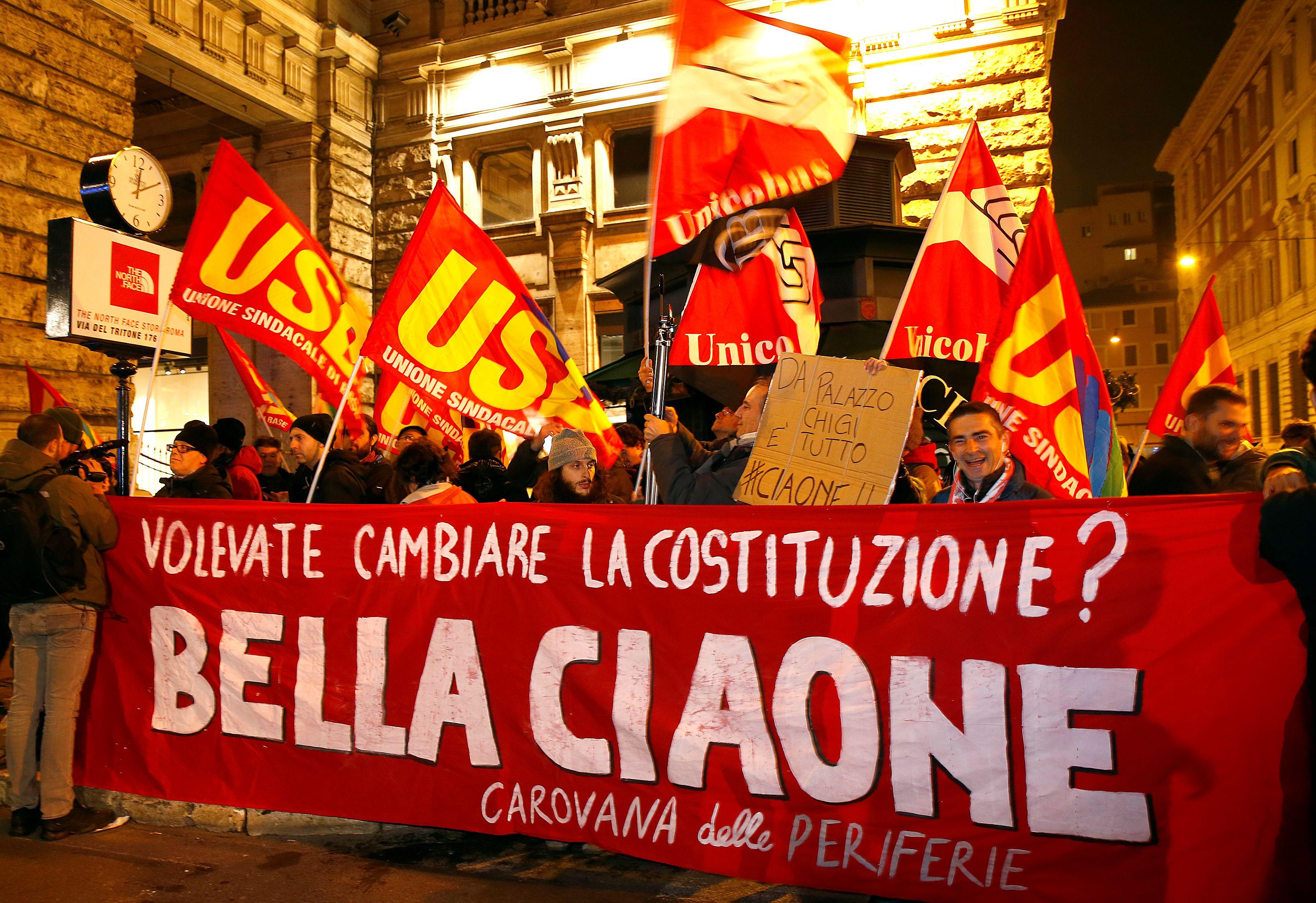 """Italų """"Ne"""" drebina ES ir euro zonos pamatus"""
