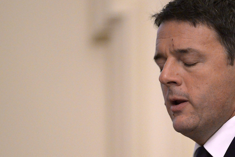 Italijos referendumas: premjeras žada trauktis