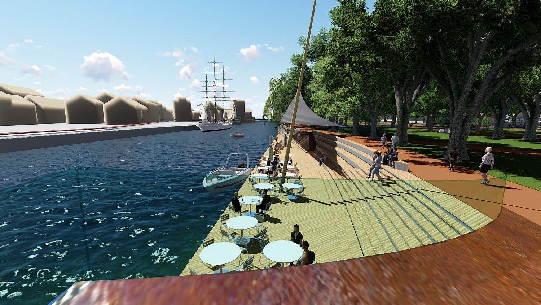 Klaipėda gręžiasi į upę: Danės krantines pritaikys poilsiui ir verslui