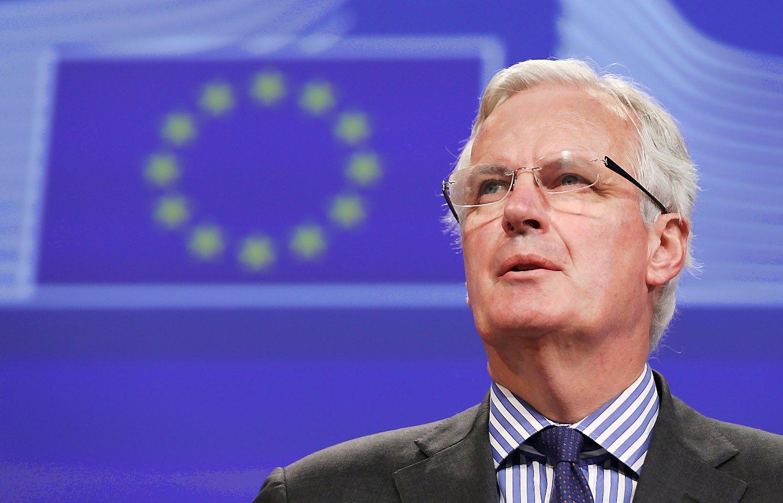 """Barnier: """"Brexit"""" susitarimas įmanomas iki 2018 m. spalio"""
