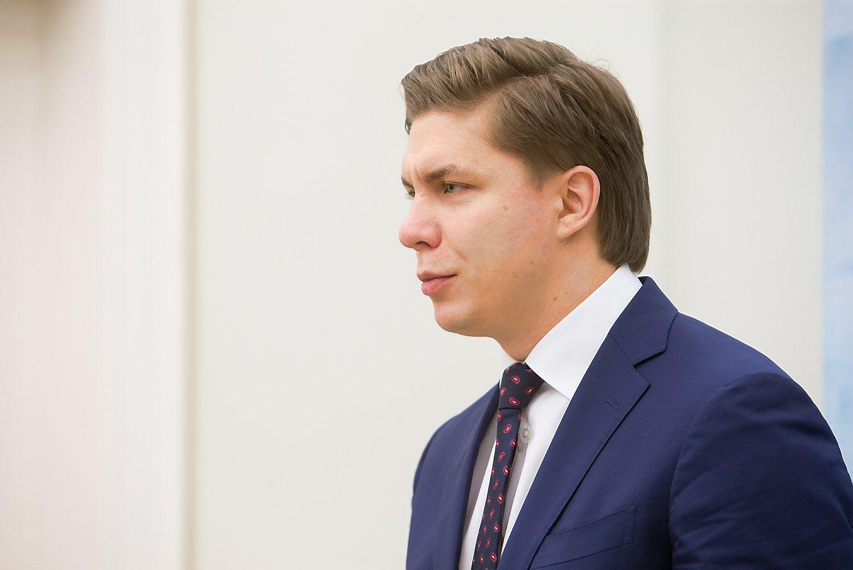 Paskirtasis ūkio ministras Mindaugas Sinkevičius. Juditos Grigelytės (VŽ) nuotr.