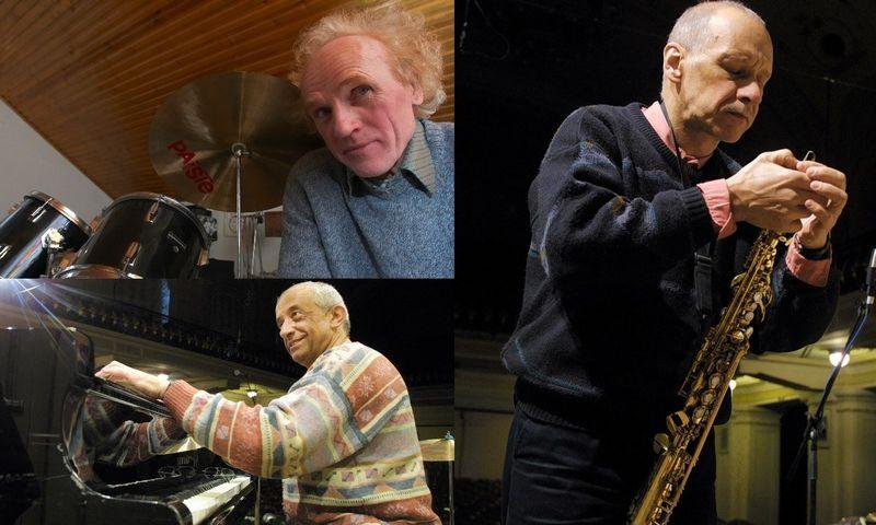 Tarp kandidatų į Nacionalinės kultūros ir meno premijų laureatus -   legendiniu vadinamo trio GTČ nariai, džiazo muzikantai Viačeslavas Ganelinas, Vladimiras Tarasovas, Vladimiras Čekasinas. VŽ nuotr.