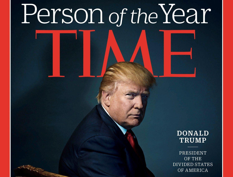 """""""Time"""" metų žmogumi tapo Donaldas Trumpas"""