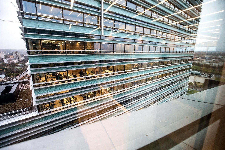 """""""Quadrum"""" nuomininkė rinkai pasiūlė modernius mažo ploto biurus"""