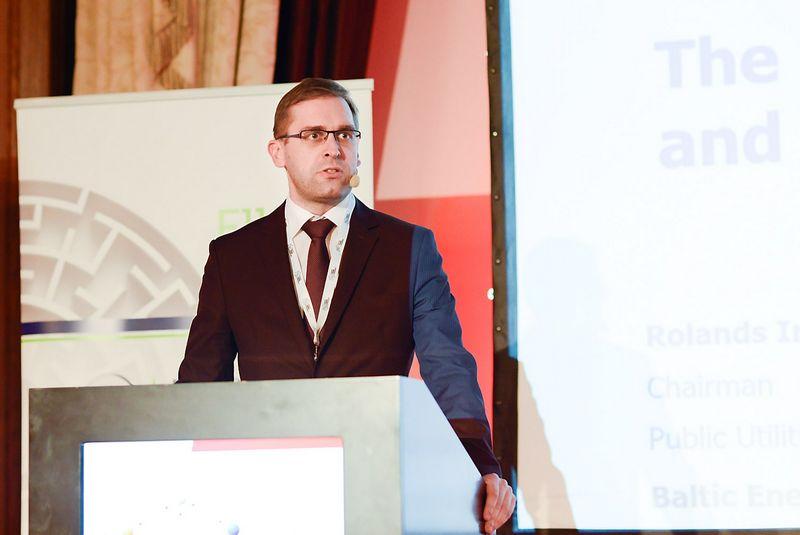 Rolands Irklis, Latvijos Komunalinių paslaugų reguliavimo komisijos valdybos pirmininkas. Aušros Barysienės nuotr.