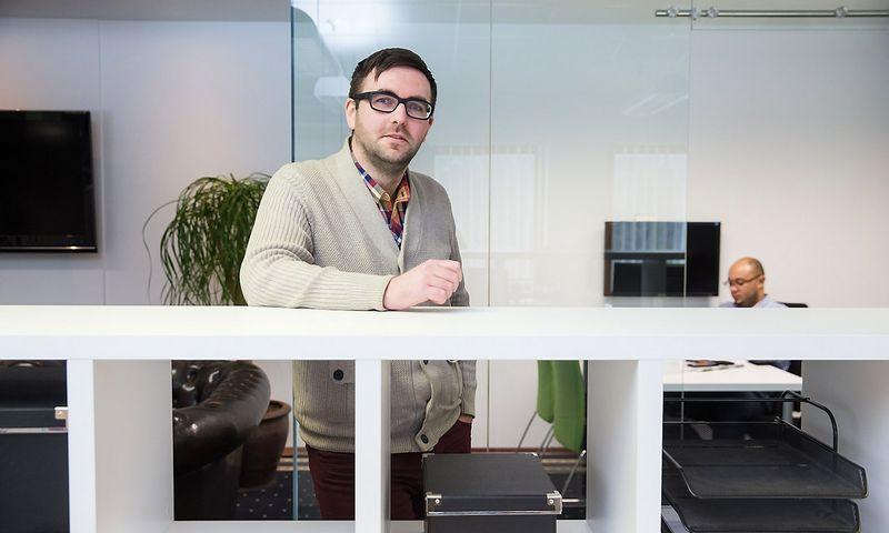 Robertas Šapalas, TV3 grupės socialinių medijų vadovas. Juditos Grigelytės (VŽ) nuotr.