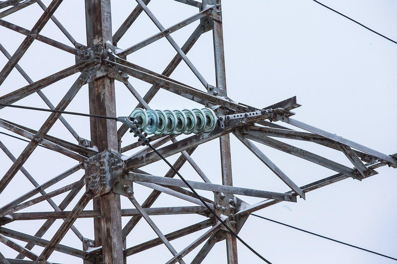 Pradėta 23 mln. Eur vertės elektros linijos statyba