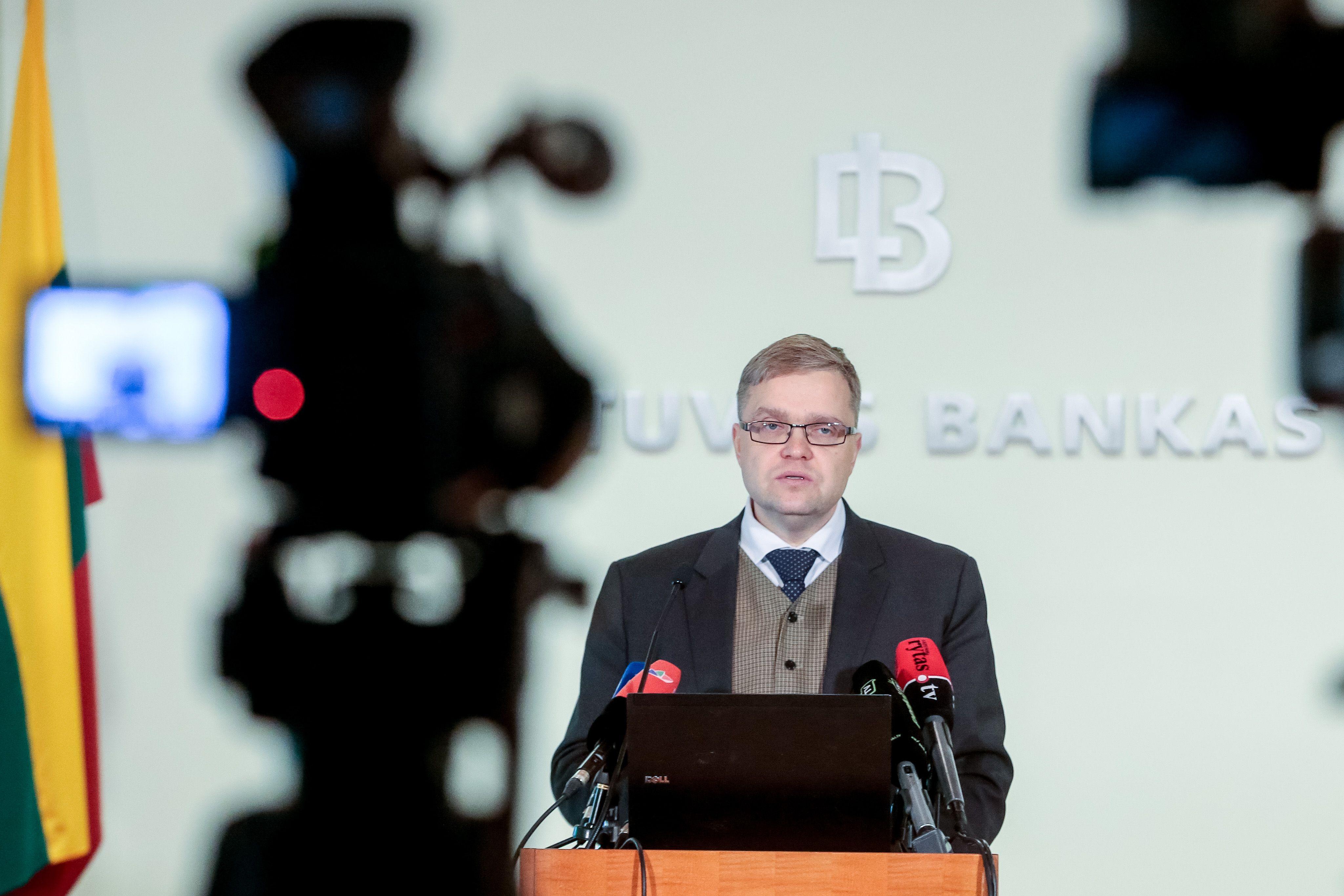 Vasiliauskas: ECB nepradėjo skatinimo atitraukimo