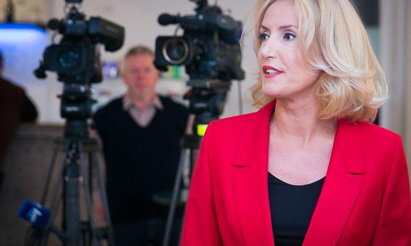 Živilė Pinskuvienė, Širvintų rajono merė, tapo Darbo partijos naująja pirmininke. Vladimiro Ivanovo (VŽ) nuotr.