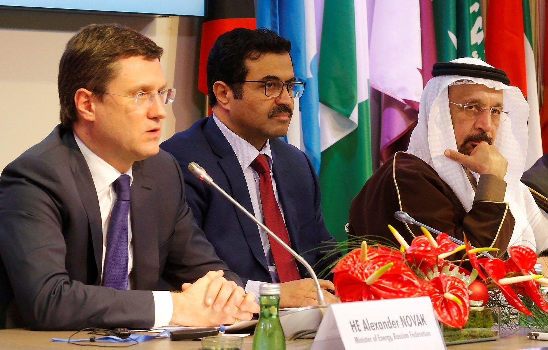 Ne OPEC narės sutarė dėl naftos gavybos mažinimo