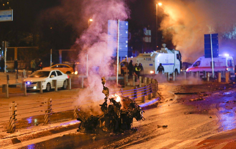Sprogimai Stambule:38 žuvę, dauguma – policininkai