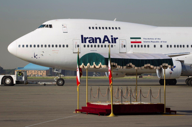 """Iranas iš """"Boeing"""" pirks 80 lėktuvų"""